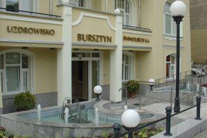 Bursztyn_Eingang